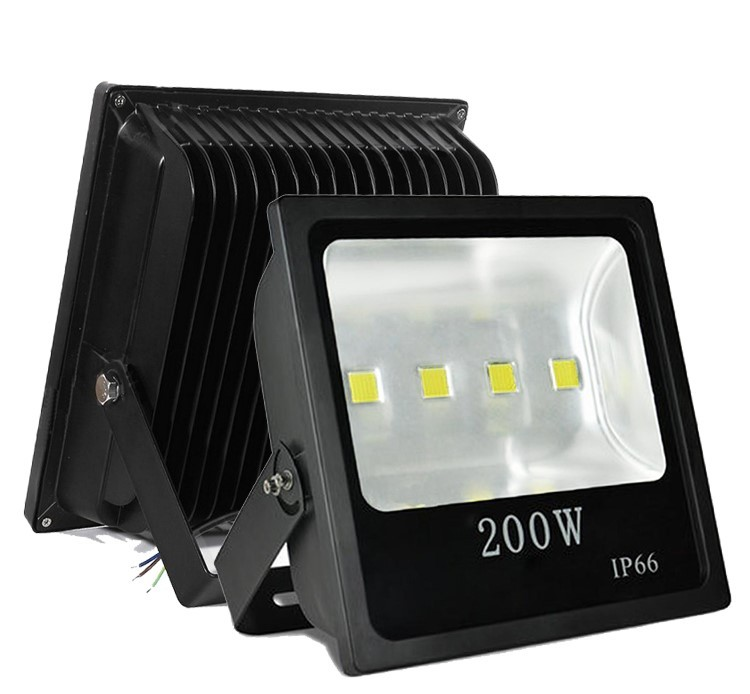Reflector Slim COB 200W, Blanco frío, IP66